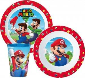 Zestaw naczyń obiadowy  Super Mario Bros