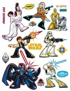 Naklejki Star Wars Gwiezdne Wojny Hero