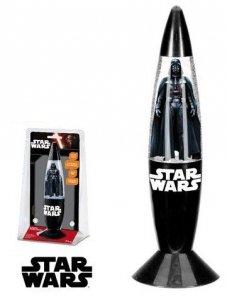 Lampka nocna STAR WARS Glitter brokatowa Darth Vader