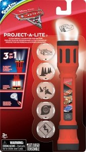 Latarka - projektor Disney Cars Auta