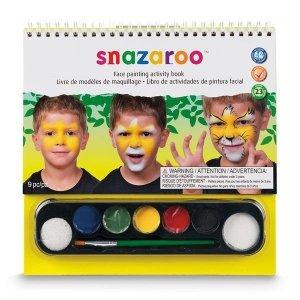 Zestaw farb do malowania twarzy SNAZAROO Face Studio