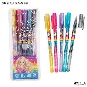 Zestaw długopisów żelowych z brokatem Top Model 6711