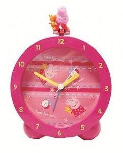 Budzik stojący zegar Świnka Pepa Peppa Pig