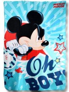 Kocyk polarowy Myszka Miki Mickey Mouse 150x100 Disney new