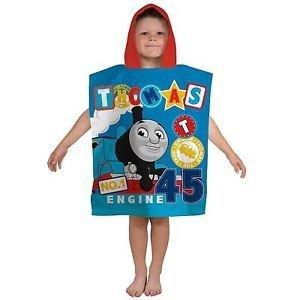 Ponczo Ręcznik z kapturem Tomek i Przyjaciele Thomas