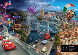 Fototapeta Disney Cars Auta 360x254cm City