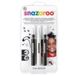 Snazaroo zestaw pisaków do malowania twarzy Monochrome