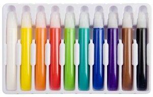 Magiczne farby do tkanin x10