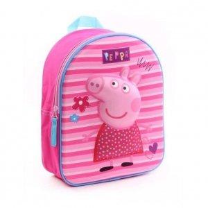 Plecak 3D Peppa Pig - Świnka Pepa wypukły