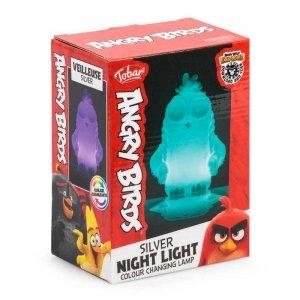 Lampka ANGRY BIRDS zmieniający kolory LED