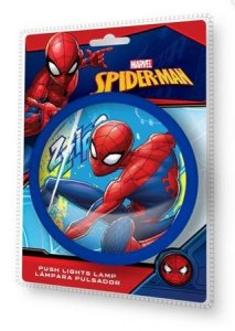 Lampka push SpiderMan blue