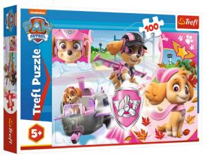 Puzzle 100el Psi Patrol Skye w akcji Trefl 16368