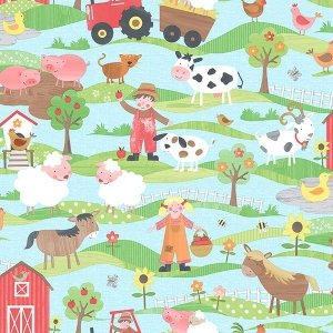 Tapeta Farma Tiny Tots G45130