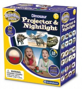 Lampka nocna i projektor slajdów z Dinozaurami