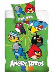 Pościel 160x200 Angry Birds Rio