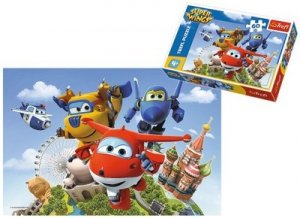 PUZZLE Super Wings 60el Trefl 17307 Lot dookoła świata