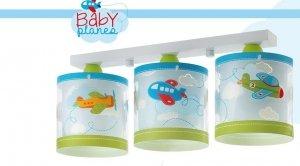 Lampa sufitowa Samoloty Baby Planes listwa potrójna