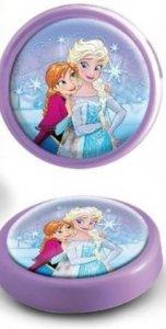 Lampka Disney Frozen na baterie nocna Kraina Lodu