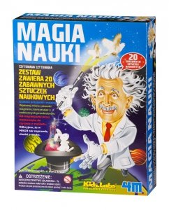 Magia Nauki Zabawne Sztuczki Naukowe 4M