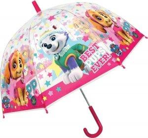 Parasolka Psi Patrol PAW transparentna SKYE