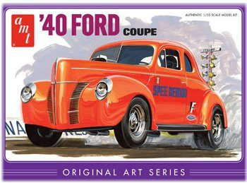 Model Plastikowy Do Sklejania AMT (USA) - 1940 Ford Coupe Original Art Series