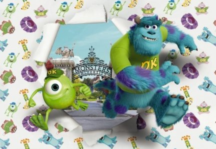 Fototapeta Monsters University 8-471