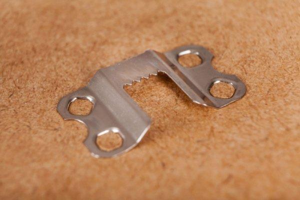 Rama 40x50 cm brązowa aluminium