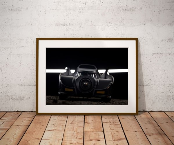 Batmobile ver2 - plakat