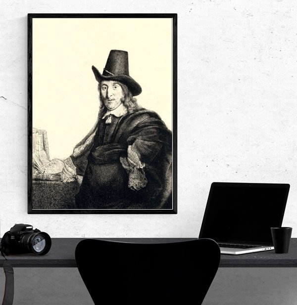 Jan Asselyn, Rembrandt - plakat