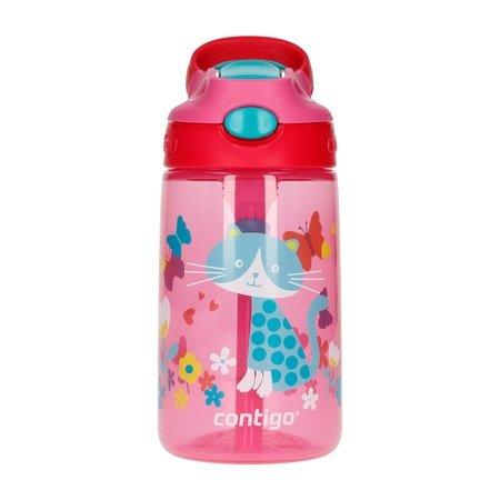 Contigo Gizmo Flip Cherry Cat - Butelka dla dzieci 420 ml