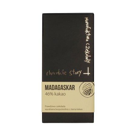 Manufaktura Czekolady - Czekolada 46% kakao z Madagaskaru