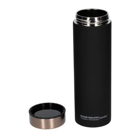 Asobu - Le Baton Czarny / Miedziany - Butelka termiczna 500 ml
