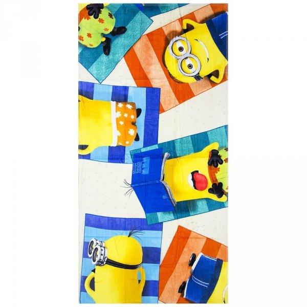Ręcznik plażowy Minionki 70x140cm 100% bawełna