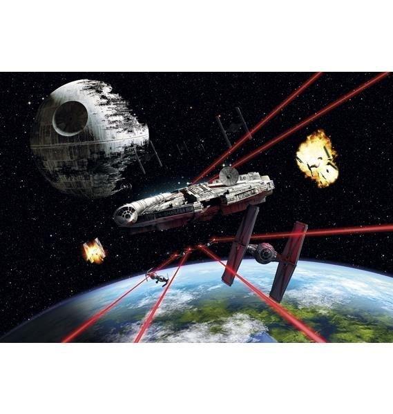 Fototapeta Star Wars Gwiezdne Wojny Millennium Falcon