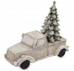 Figurka samochód z choinką podświetlany led