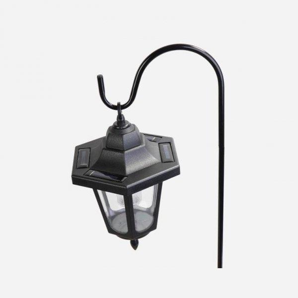 LAMPA SOLARNA WISZĄCA LAMPION ŚWIECZNIK