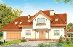 Projekt domu Edyta pow.netto 261,96 m2