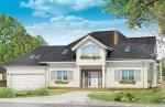 Projekt domu Dom z kolumnami pow.netto 259,3 m2