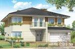 Projekt domu Gabriela II pow.netto 321,79 m2