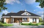 Projekt domu Rozwojowy pow.netto 130,23 m2
