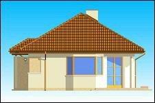 Projekt domu Klejnot pow.netto 68,32 m2