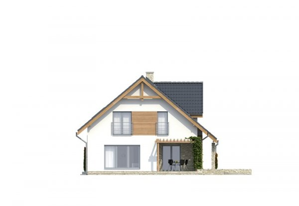 Projekt domu TK25