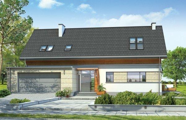 Projekt domu Gala pow.netto 212,34 m2