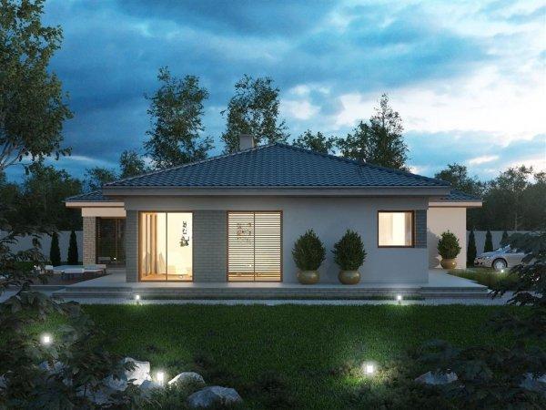Projekt domu Acapulco o pow. 133,20 m2