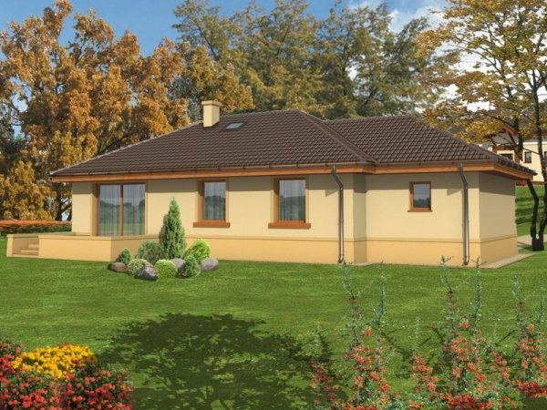 Projekt domu Sardynia B