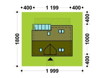 Projekt domu TK22