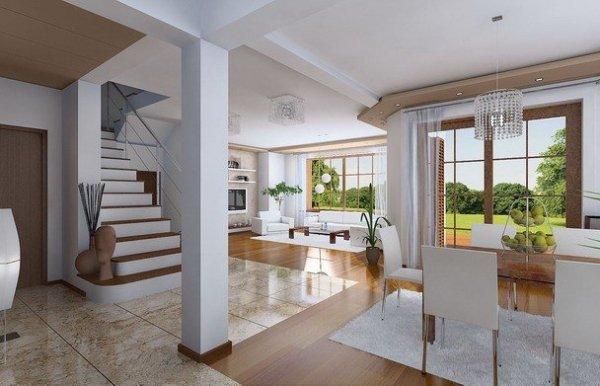 Projekt domu Julka pow.netto 140,7 m2