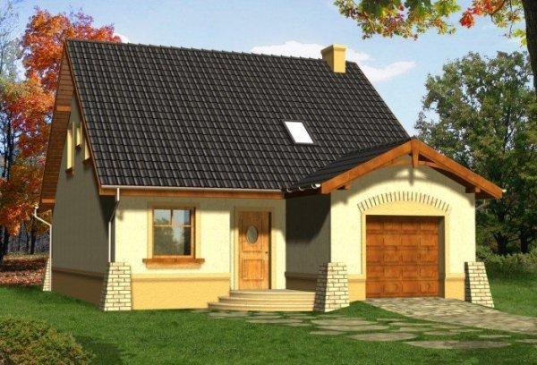 Projekt domu BARCELONA