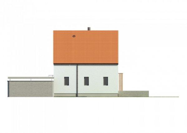 Projekt domu pasywnego greenCube 127