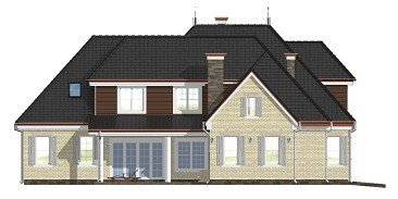 Projekt domu Dallas pow.netto 410,13 m2